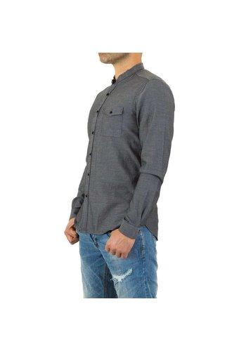 D5 Avenue Herrenhemd von Y.Two Jeans - Anthrazit