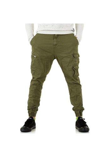D5 Avenue Herren Hose von Y.Two Jeans - green
