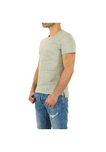 D5 Avenue Herren Shirt von Y.Two Jeans - green
