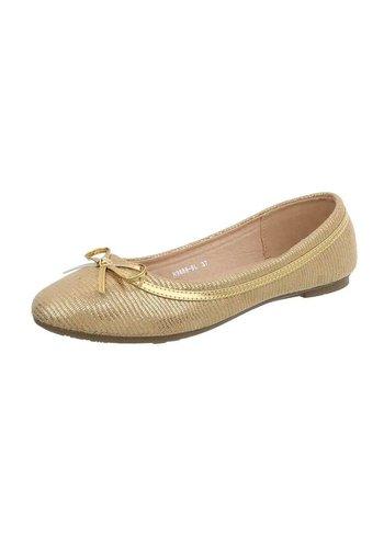 D5 Avenue Damen Ballerinas - gold