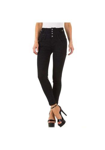 D5 Avenue Damen Jeans von Ghiaccio&Limone - nero