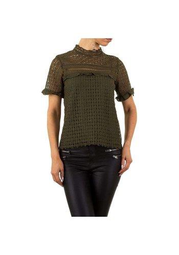 NOEMI KENT Damen Bluse von Noemi Kent - armygreen