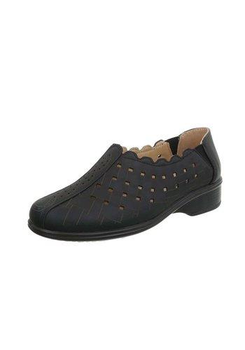 D5 Avenue Damen Slipper - black