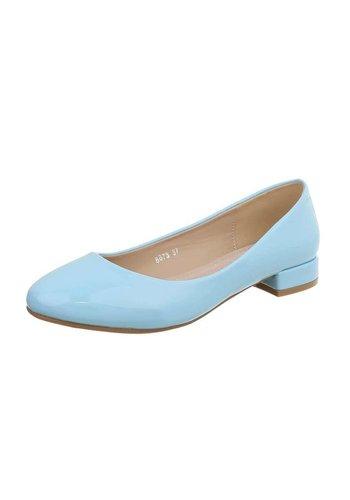 D5 Avenue Ladies classic mule - blau