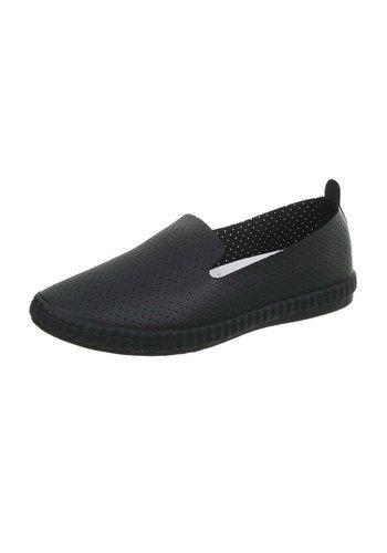 D5 Avenue Ladies halb shoe- schwarz