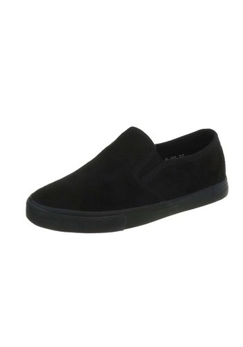 D5 Avenue Damen Slip-On - Schwarz