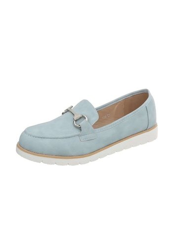 D5 Avenue Damen Slipper - blau