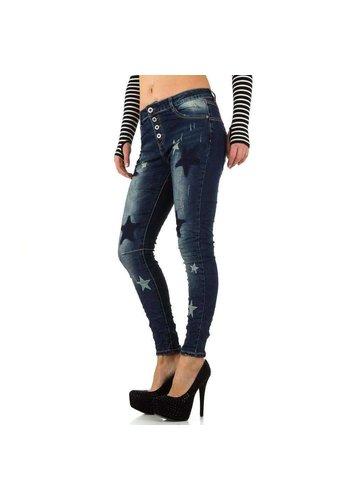 D5 Avenue Damen Jeans von New Play - blue