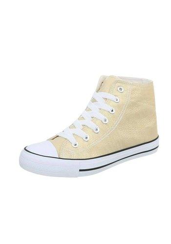 D5 Avenue Damen Sneakers high - golden