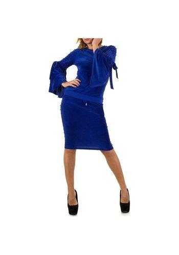 D5 Avenue Damen Anzug - Königsblau