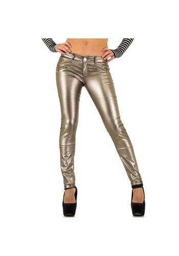 D5 Avenue Damen Jeans von R.Jonaco - bronze