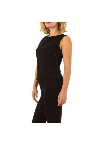USCO Damen Bluse von Usco - schwarz