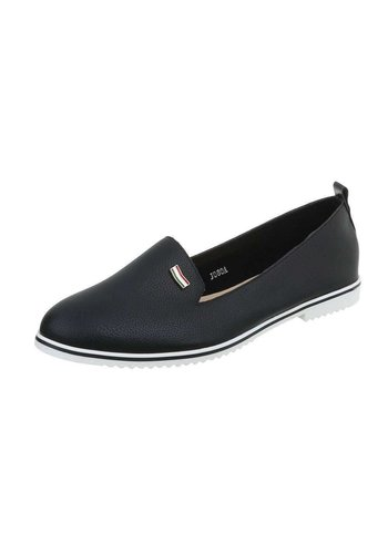 D5 Avenue Damen Slip on Schwarz