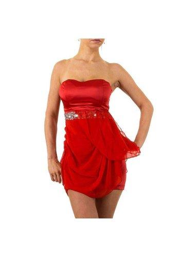 USCO Damen Kleid von Usco - red