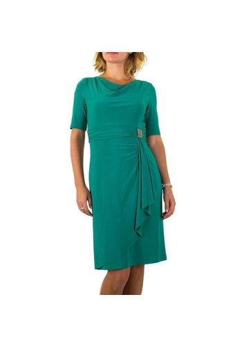D5 Avenue Damen Kleid von Vera Mont - petrol