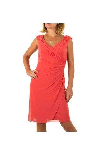 D5 Avenue Damen Kleid von Vera Mont - coral