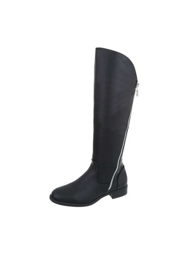 D5 Avenue Damen Stiefel - black