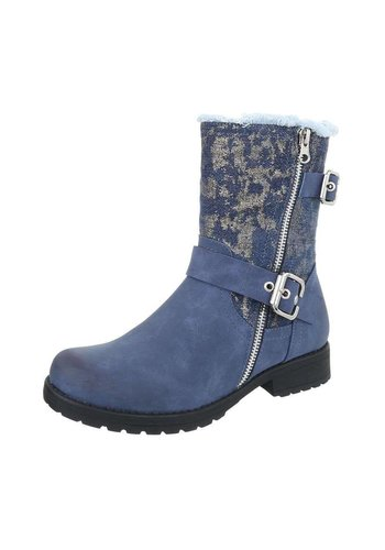 D5 Avenue Damen Klassische Stiefeletten - blue