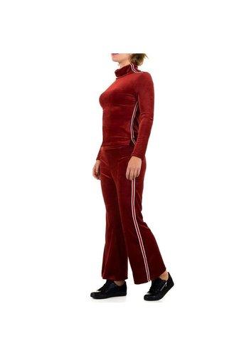 D5 Avenue Damen Anzug - red