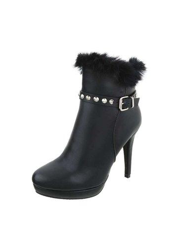 D5 Avenue Damen High Heel Stiefeletten - black