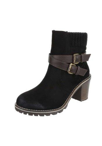 D5 Avenue Damen Stiefeletten - black