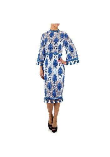 D5 Avenue Damen-Kleid-Gr.-S-blau