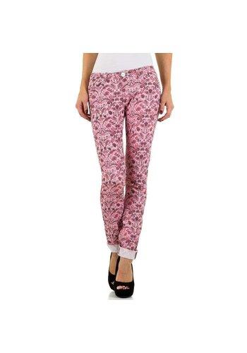 D5 Avenue Damen Jeans von Simply Chic - pink