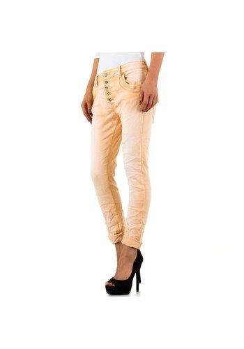 MOZZAAR Damen Jeans von Mozzaar - apricot
