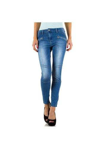 D5 Avenue Damen Jeans von Place Du Jour - blue