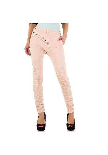 D5 Avenue Damen Jeans von Place Du Jour  - nude