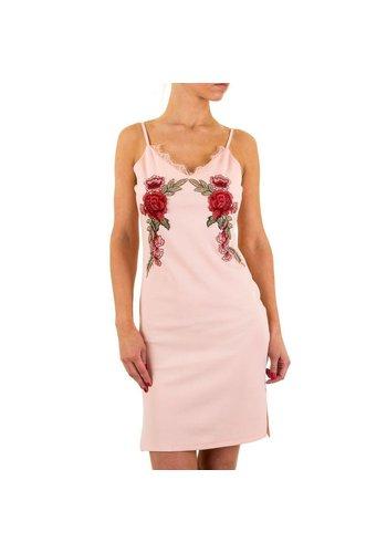 D5 Avenue Damen Kleid von Shk Mode - rose