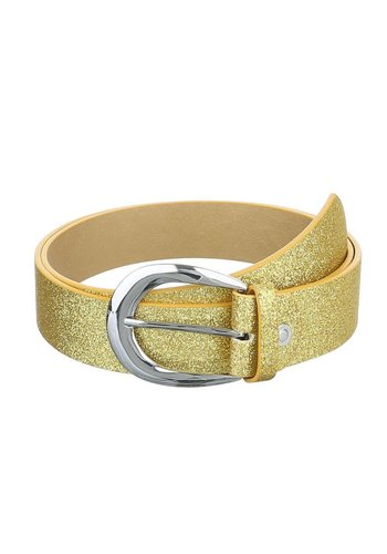 D5 Avenue Damengürtel aus Polyurethan - Gold