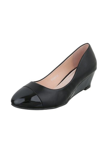 D5 Avenue Damen Keilabsatz - black