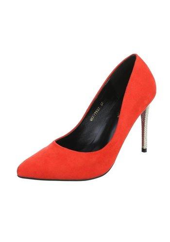 D5 Avenue Damen High Heels - red