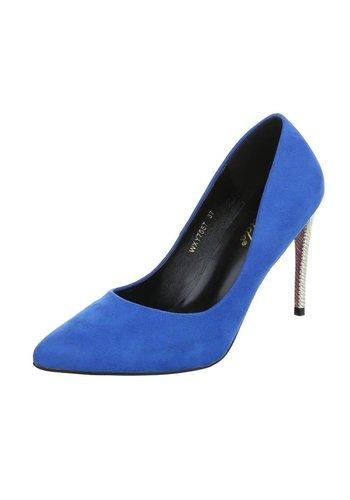 D5 Avenue Damen High Heels - blue