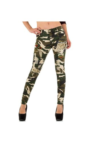 ORIGINAL Damen Jeans von Original - camouflage