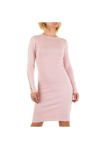 D5 Avenue Damen Kleid von Jcl Paris - rose