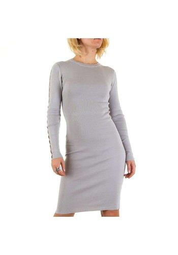 D5 Avenue Damen Kleid von Jcl Paris - grau