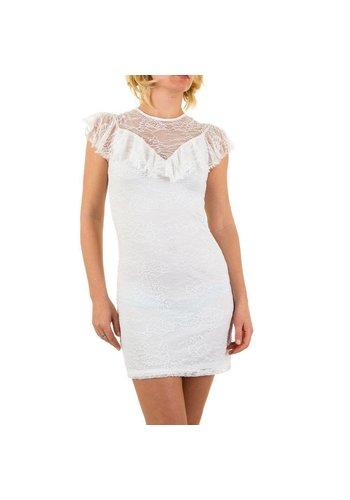 D5 Avenue Frauenkleid - weiß