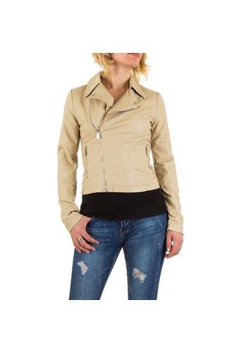 D5 Avenue Damen Jacke - beige