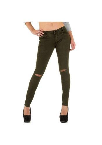 D5 Avenue Damen Jeans von Goldenim - kaki