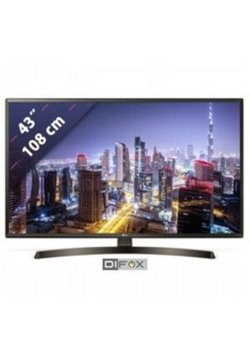 "LG Smart TV 108cm 43 ""mit 4K Active HDR"