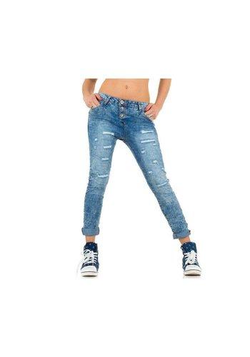 MOZZAAR Damen Jeans von Mozzaar - L.blue