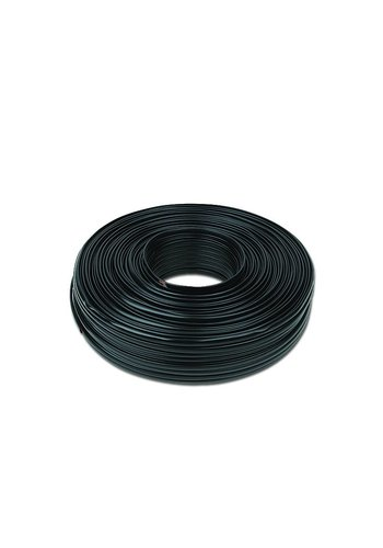 CableXpert Flat telephone cable stranded wire 100 meters, black, 6 wires