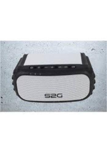 Mobiset S2G Soundbloq Bluetooth-Lautsprecher, schwarz / weiß