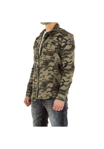 D5 Avenue Herren Hemd von Uniplay - camouflage