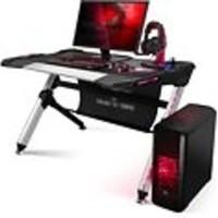 Gaming Desk 500 mit LED-Beleuchtung und USB-Hub