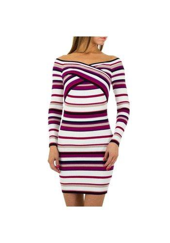 JCL Damen Kleid von JCL - lila