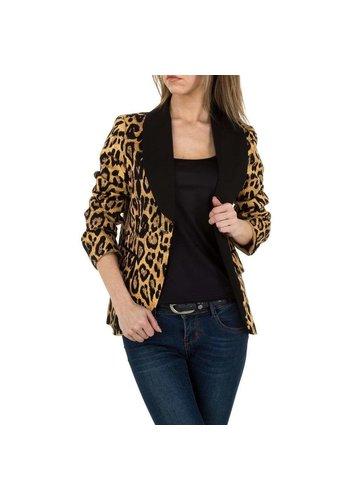 JCL Damen Jacke von JCL - leopard