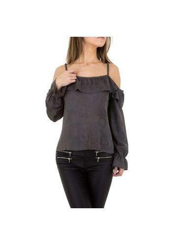 JCL Damen Bluse von JCL - grey